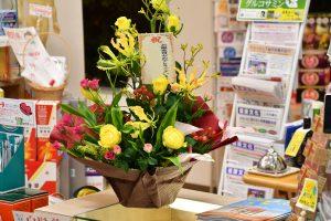 34周年記念の花